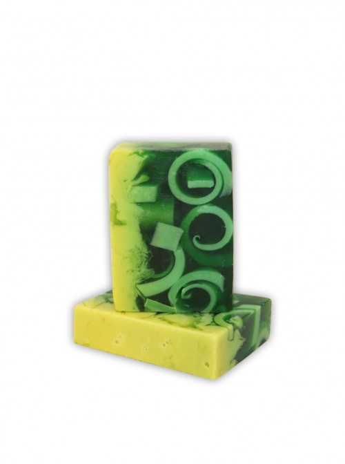 "Natural cream soap ""Green tea"""