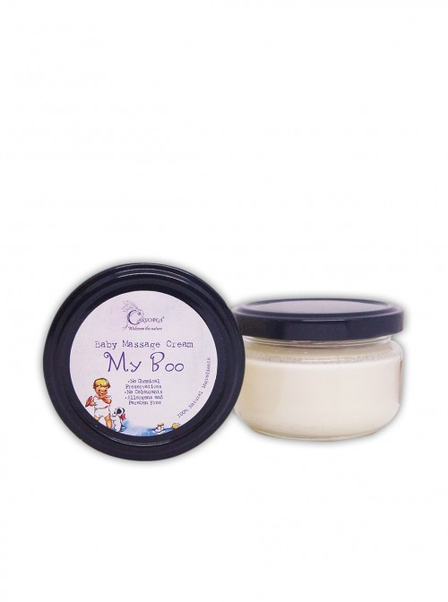 Natural massage cream for babies and children