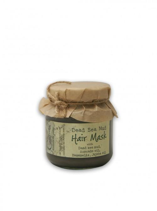 Маска за коса с кал от Мъртво море и подхранващи масла
