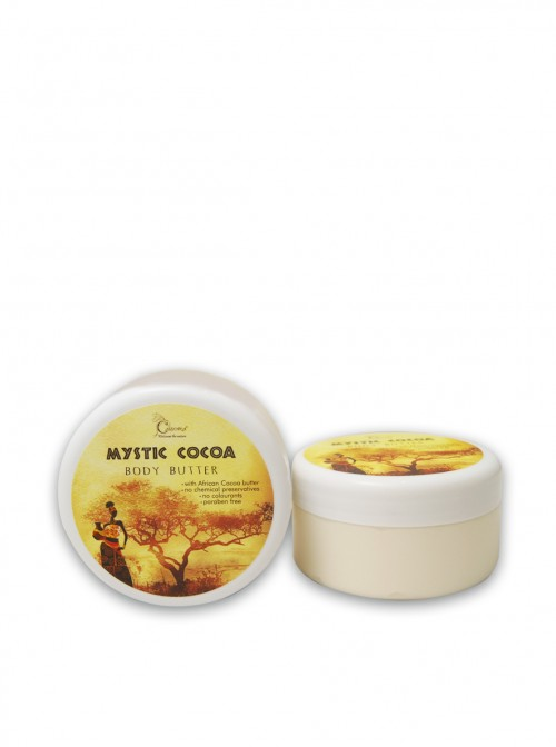 "Body cream with cocoa butter  ""Mystic cocoa"" 250 ml."