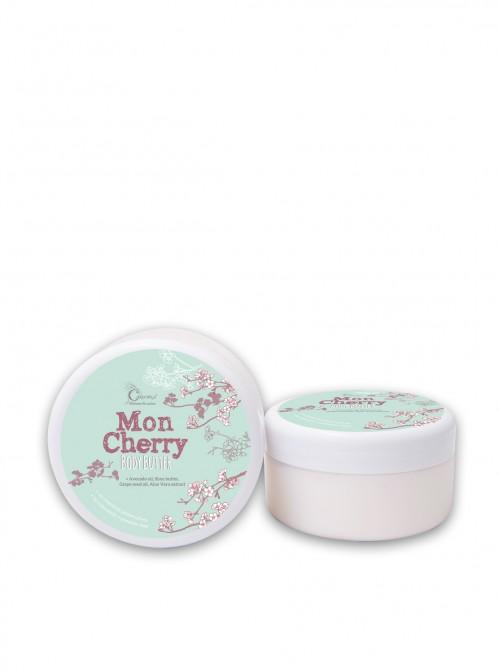 """Крем за тяло с масла от Ший и Авокадо """"Mon Cherry"""" 250 мл."""