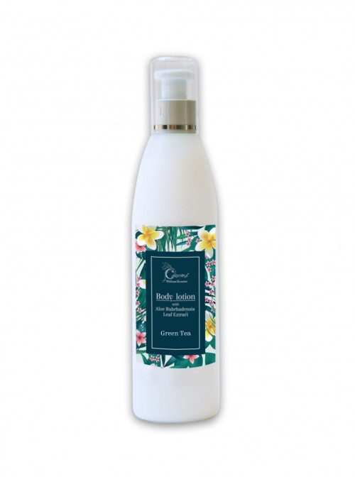 "Aloe Vera body lotion ""Green tea"" 200 ml"