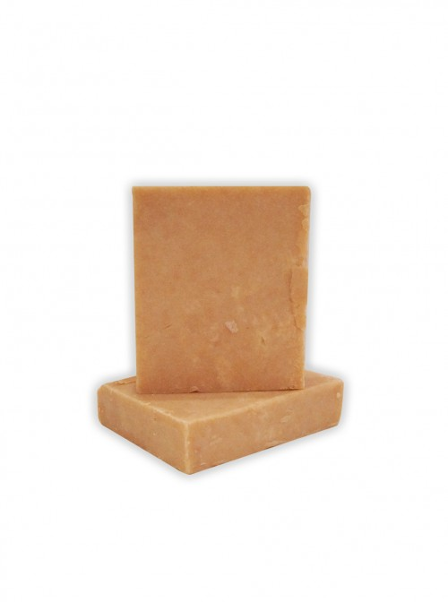 Natural soap with rose clay and lavender oil